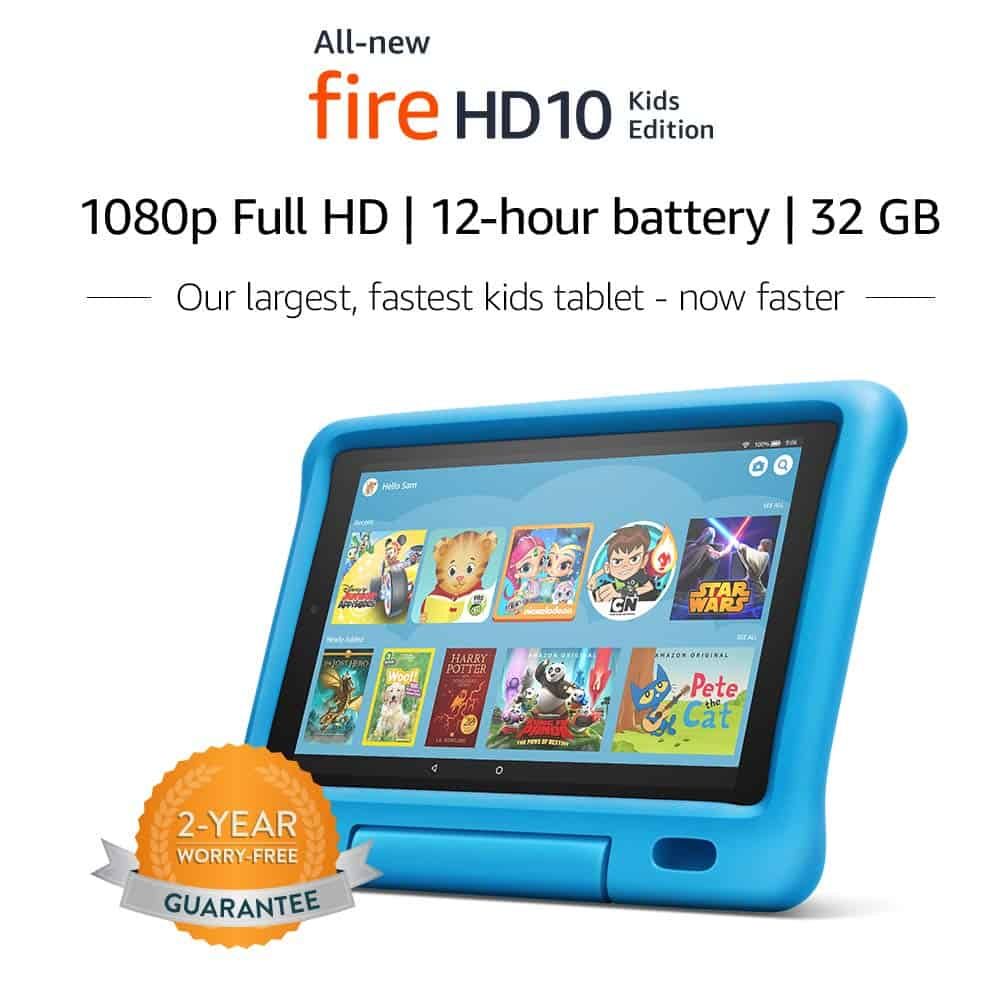 Amazon fire 10 kids edition for youtube