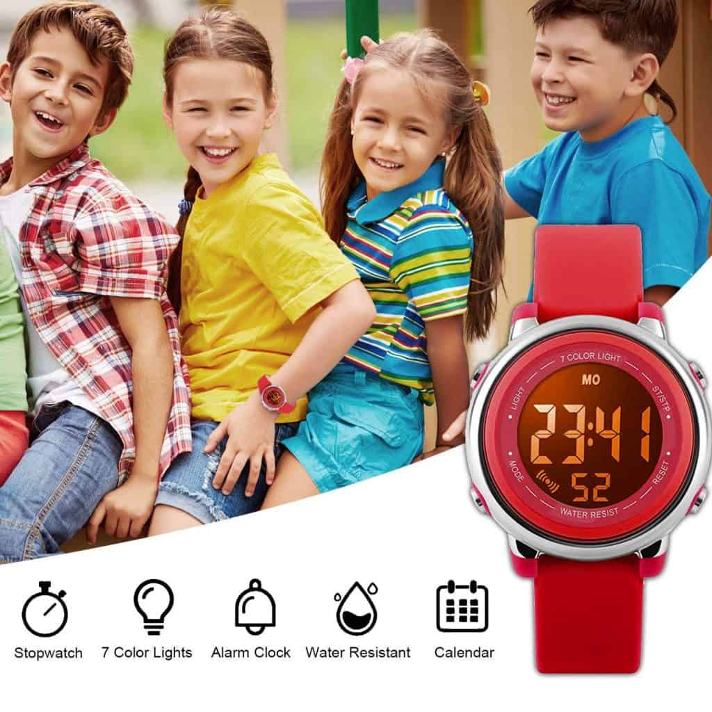 Cofuo rounds kids digital watch