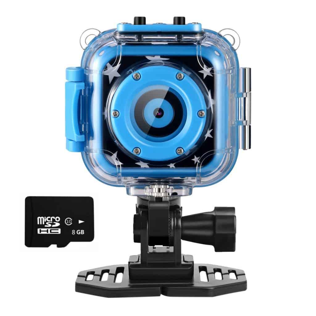 Ourlife kids waterproof action camera