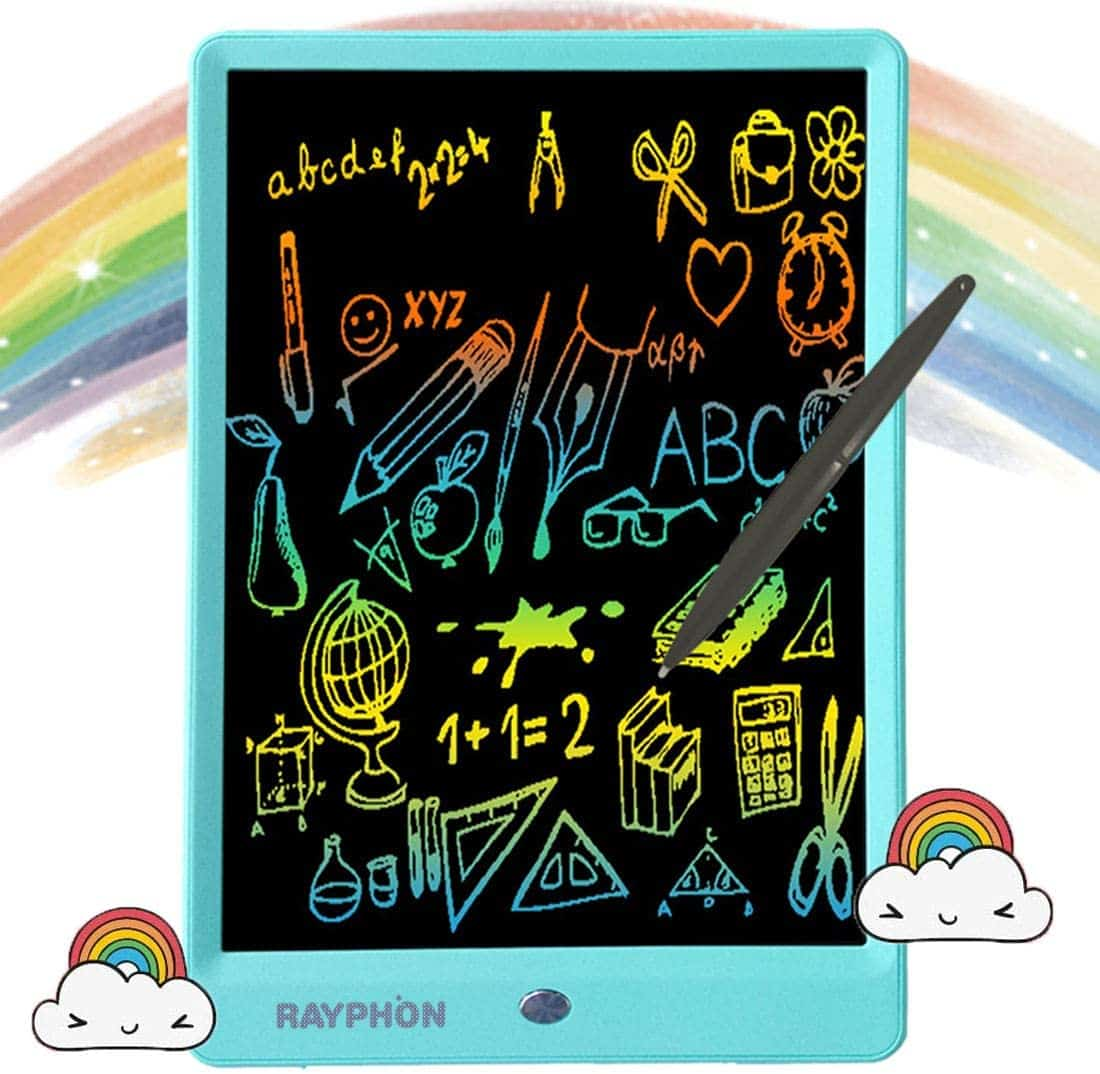 BEST VIVID COLORS: Rayphon LCD Writing Board