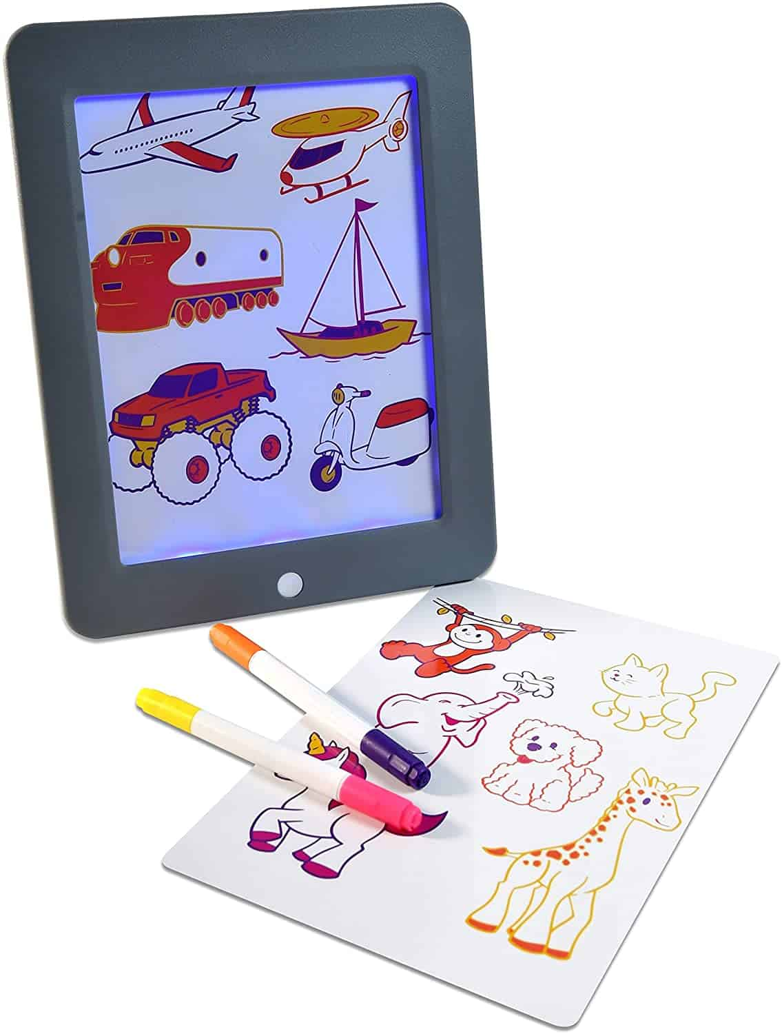 Best Glow Pad: Sunny Days Creativity Drawing Tablet (Ages 2-8)